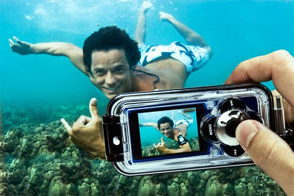смартфон который фотографирует под водой пончики пышки жарят