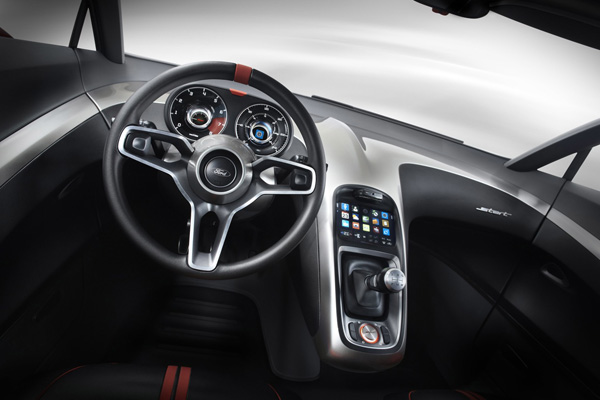 Концепт напичканного электроникой автомобиля - Ford Start (19  фото)