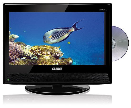 ЖК-телевизоры BBK со встроенным DVD проигрывателем