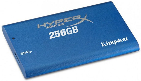 Kingston HyperX Max 3.0 – SSD с интерфейсом USB 3.0