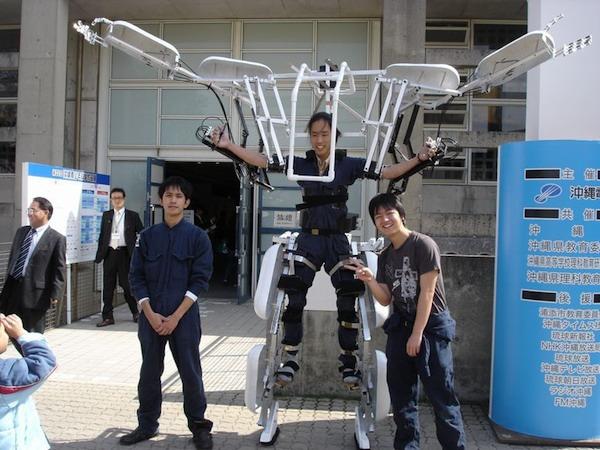 Как собрать экзоскелет своими руками