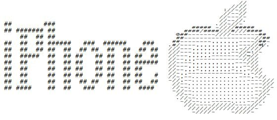 картинка рисунки из палочек на клавиатуре быстро