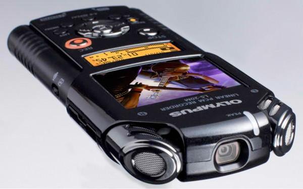 Olympus LS-20M - профессиональный диктофон и HD видеокамера (фото)