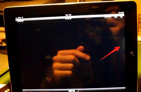 для почему при включении айфона половина экрана темнеет жимолости (пошаговые