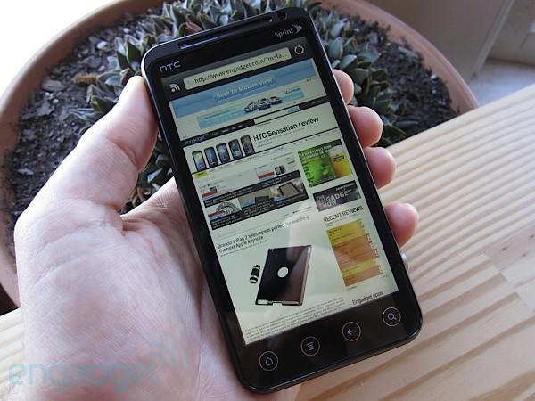 HTC EVO 3D - анонс смартфона
