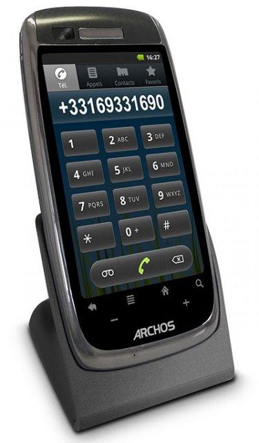 Archos 35 - домашний телефон с Андроидом