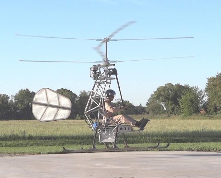 Реактивный самодельный вертолет