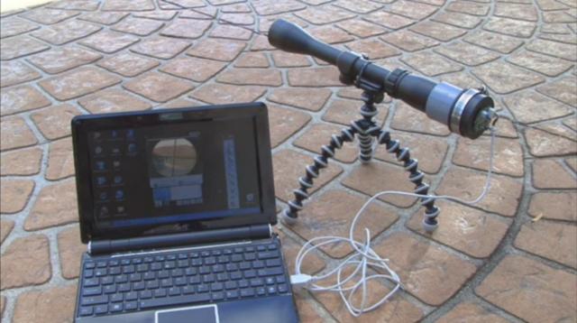 Веб камера и телескоп своими руками 45