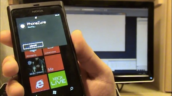 Голосовое управление c Windows Phone (видео)
