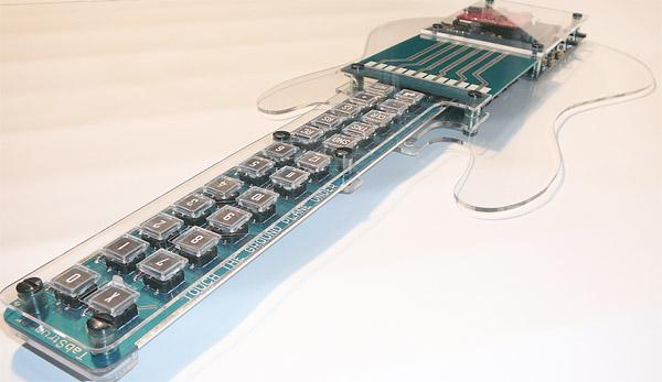 Гитара-синтезатор Tabstrummer (2 фото + видео)
