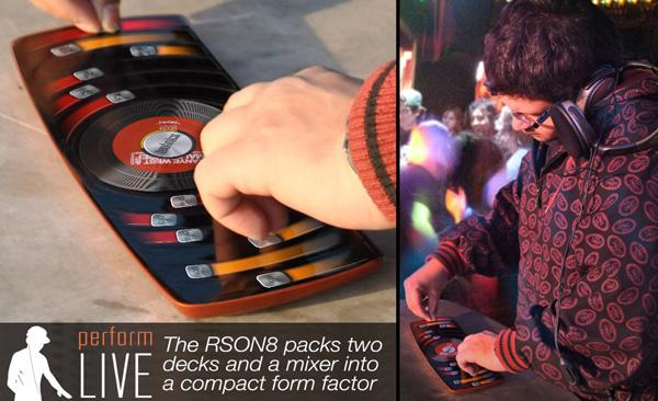 Концепт сенсорного DJ-пульта (7 фото + видео)