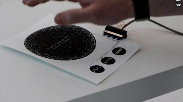 Интерактивная бумага (видео)