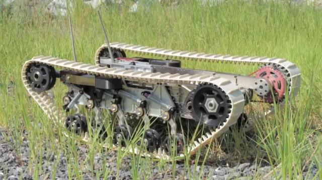 Гусеницы своими руками для робота