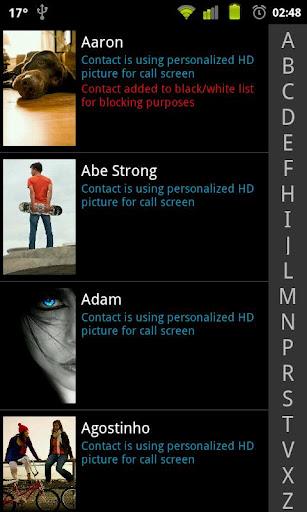 Фото программа весь звонящего для на экран андроид