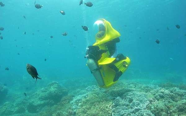 Персональная подводная лодка 4 фото