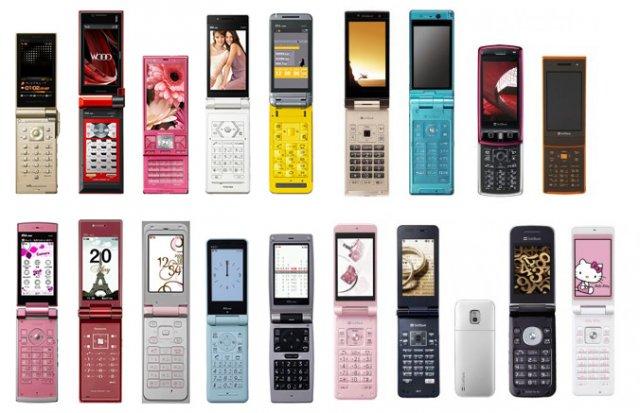 История мобильных телефонов в картинках