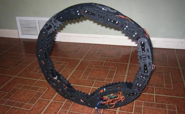 Робот-трансформер Troller 1D