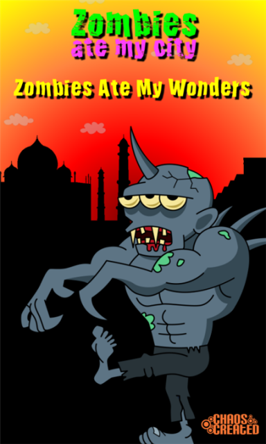 Zombies Ate My Wonders - аркада