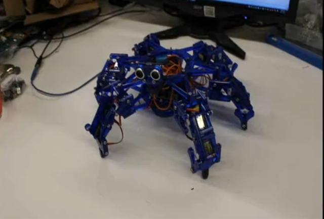 для сборки робота (видео)