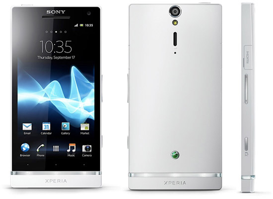 Sony Xperia S обновили до Android 4.0