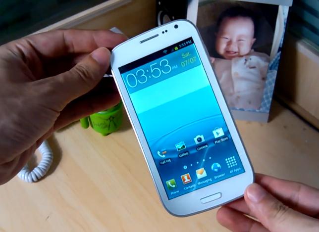 Китайская копия Samsung Galaxy S III (видео): http://24gadget.ru/1161051901-kitayskaya-kopiya-samsung-galaxy-s-iii-video.html