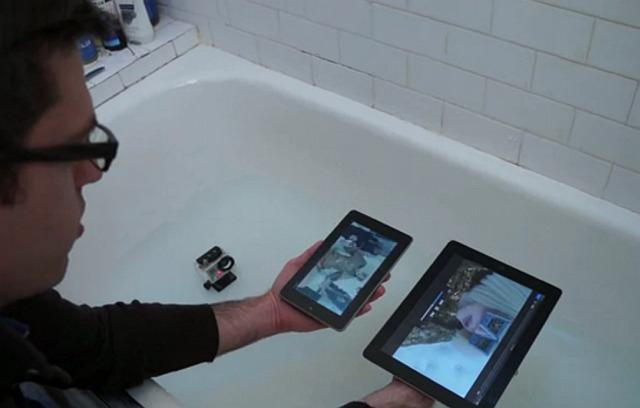 Краш-тест iPad3 и Google Nexus 7