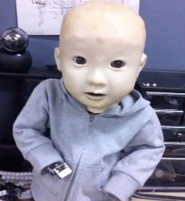 робот ребенок фото