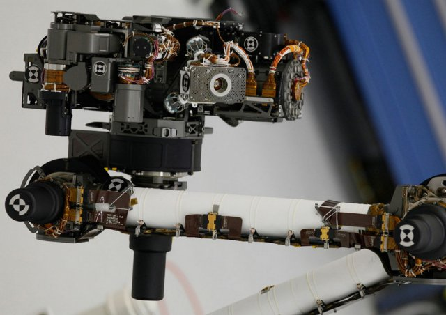 Марсоход «Кьюриосити» в деталях (35 фото)