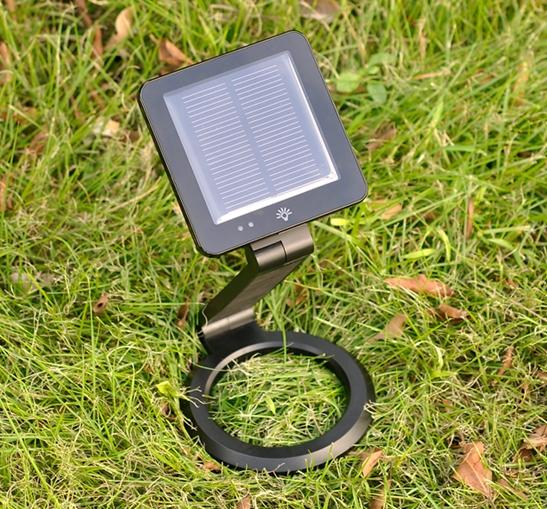 Светодиодная лампа с солнечной батареей и зарядкой