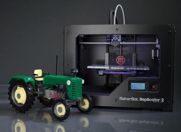 MakerBot Replicator 2 - 3Д-принтер с впечатляющими характеристиками (видео)