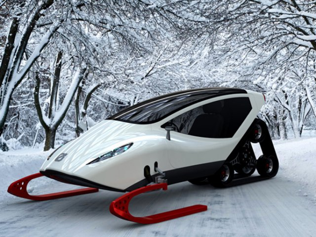 the technology behind the snowmobile engine