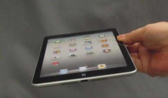 iPad mini засветился на видео