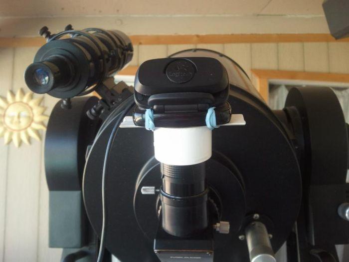 Телескоп из веб камеры