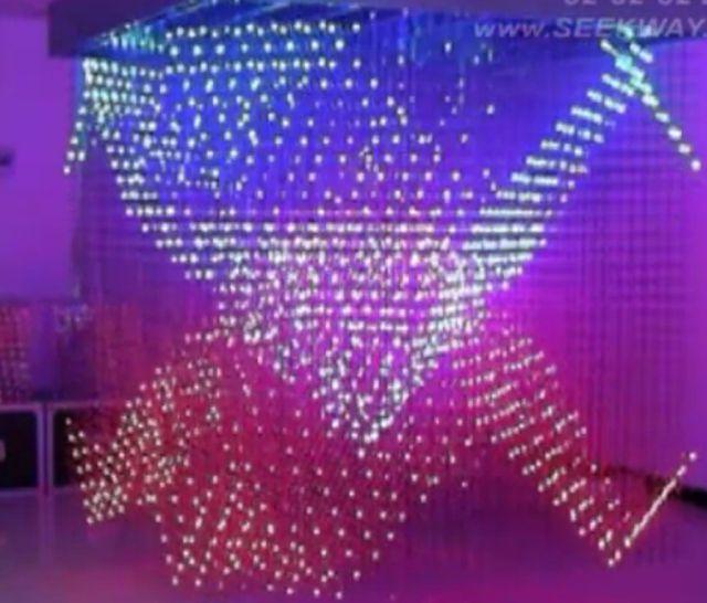 Самый большой светодиодный куб