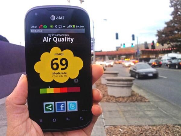 CitiSense – датчик загрязненности воздуха