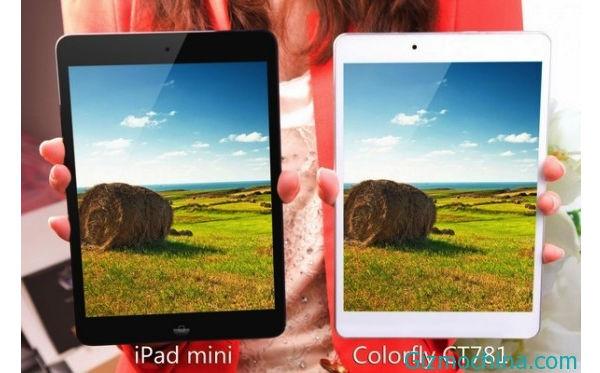 Colorfly CT781 - клон планшета Apple iPad Mini (2 фото)
