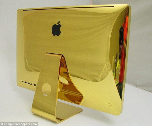 Компьютеры из чистого золота (7 фото)
