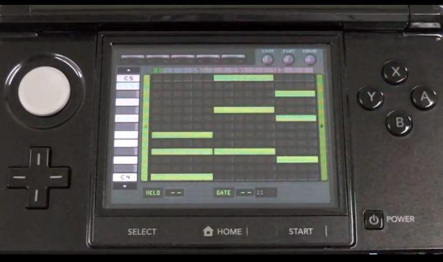 Ретро синтезатор для Nintendo 3DS (видео)