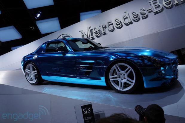 Тест-драйв электрического Mercedes-Benz SLS AMG (видео)
