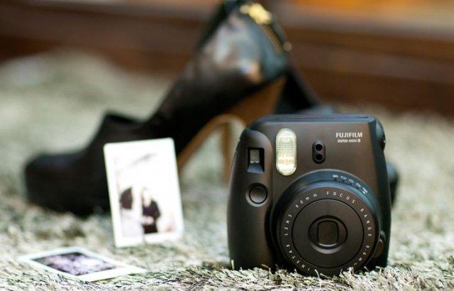 фото с мгновенного фотоаппарата