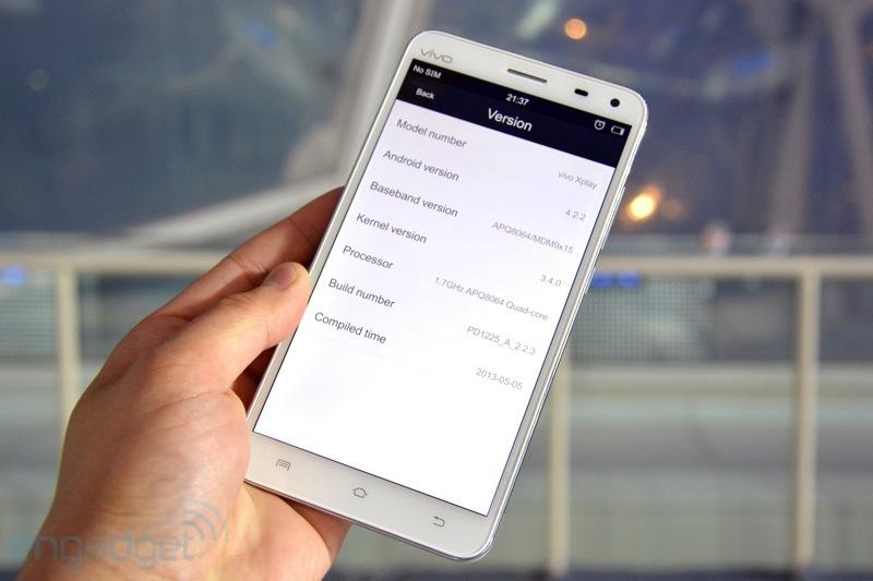 BBK Vivo Xplay - китайский гуглофон с 5.7-дюймовым FullHD дисплеем ...
