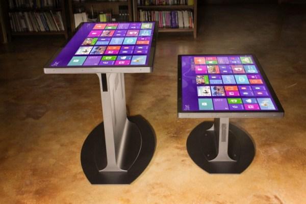 46-дюймовый сенсорный стол (5 фото)