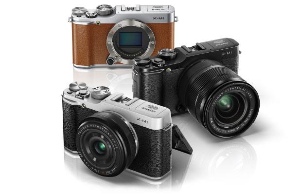 Fujifilm официально представила свою новую камеру X-M1