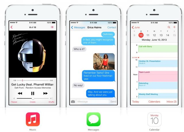 Обновлённая операционная система - Apple iOS 7