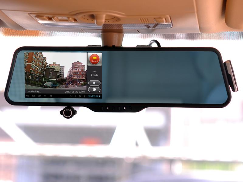 Видеорегистратор dvr автомобильное зеркало