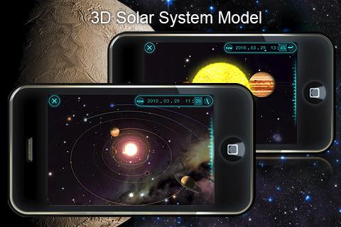 3D-модель Солнечной системы