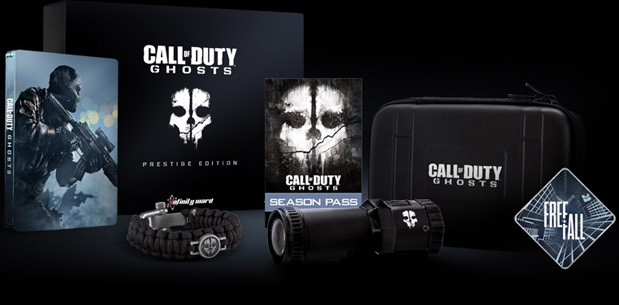 Call of Duty: Ghosts Prestige Edition будет содержать FullHD экшн-камеру (видео)