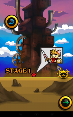 Legend of Cat Knight 1.0.0. Аркада