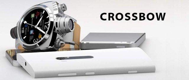 Hyetis Crossbow - умные часы с 41-мегапиксельной камерой (4 фото)