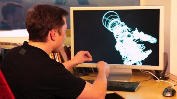 3D Модель Двигателя